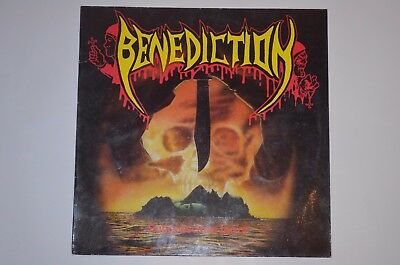BENEDICTION Subconscious terror  Death Metal 1. Press 1990 Vinyl VG++