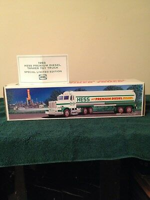 1993 Hess Premium Diesel Tanker Truck In Mint Condition