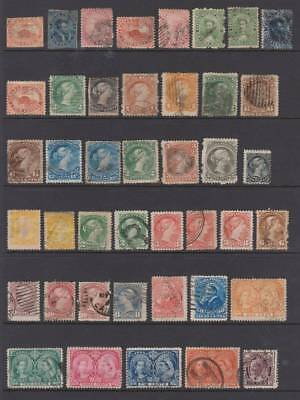 Early Canada selection, Various shades etc. Huge cat value. Ref-663