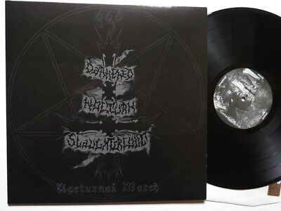 Darkened Nocturn Slaughtercult - Nocturnal March LP FOC +Booklet 1st press 666