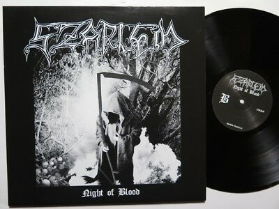 SZARLEM - Night in Blood LP Occult Black Metal lim. 300