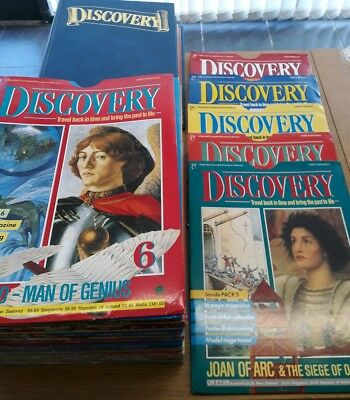 Discovery Magazine Marshall Cavendish Complete Set 1-60 + Binders war History