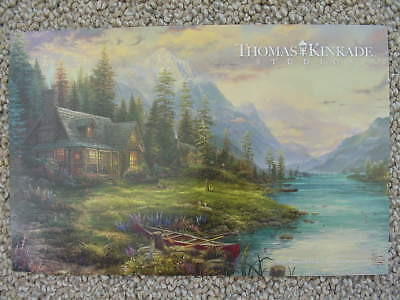 A Father's Perfect Day, Thomas Kinkade Studio Dealer Post Card, New, Mint Cond!