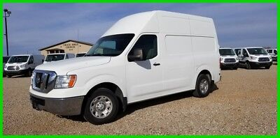 2013 Nissan NV High Roof, Sprinter, Cargo Van, Raised Roof, Service Van,work van 2013 Nissan NV2500 High Roof Cargo van with shelves and bulkhead
