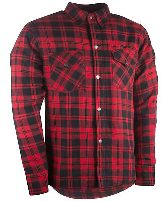 Highway 21 Marksman Mens Flannel Riding Shirt Red/Black