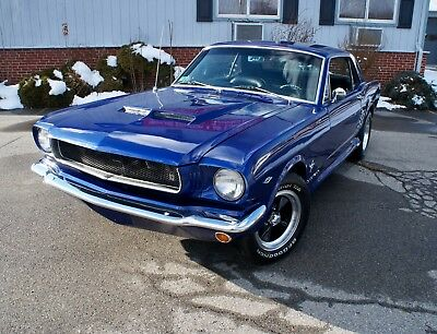 1966 Ford Mustang Enhanced Eleanor Pkg . 1966 MUSTANG COUPE  / ELEANOR Pkg. Resto/ Reblt. Upgraded 289 and C4!100 Photos