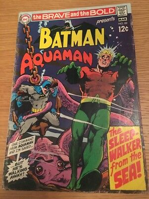 DC Comics Batman Brave And The Bold #82 1969