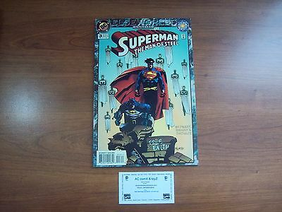 SUPERMAN THE MAN OF STEEL annual #3 MIGNOLA cover