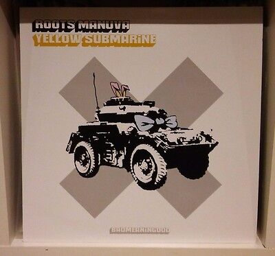 "Roots Manuva - Yellow Submarine 12"" with Banksy Artwork (NM Vinyl, EX Sleeve)"