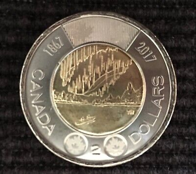 2017 Canada 150Th Birthday Dance Of The Spirits $2.00 Canadian Coin