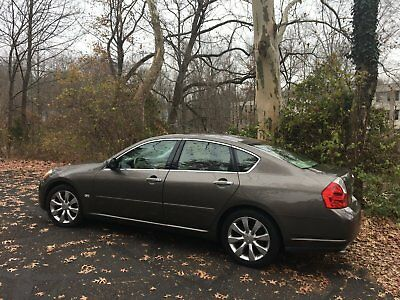 2006 Infiniti M35 Wood Umbria Grey 2006 Infinit M35