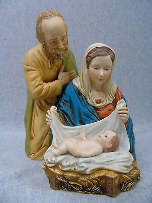 1981 Roman Inc. The Holy Family Gherardo Delle Notti Nativity Figurine m024