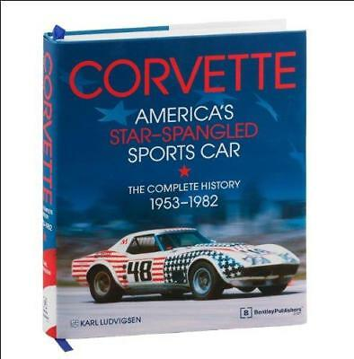 CHEVROLET CORVETTE - AMERICAS STAR SPANGLED SPORTS CAR Owners Manual Handbook