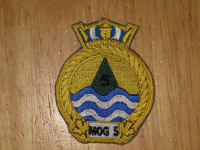 Canadian Navy Badge Ship's Crest Maritimes Operation Group 5