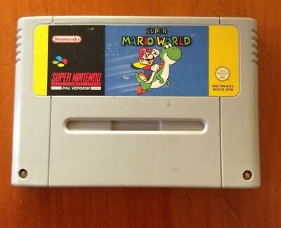 Super Mario World (Super Nintendo Entertainment System, 1991)