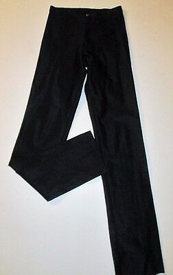 Vintage Bojeangles Original Skin-Ease Size 3 (S) Black High Rise Disco Pants