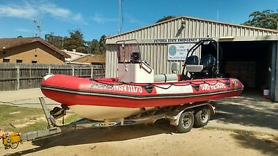 Zodiac Pro 600 Ocean-Going Rescue Inflatable Boat