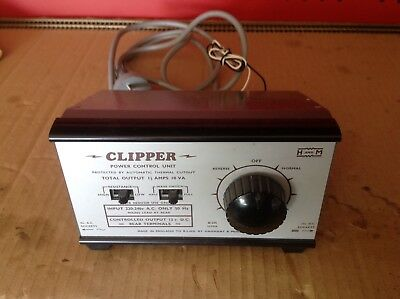 H&m Clipper Model Railway Train Set Power Speed Controller Transformer