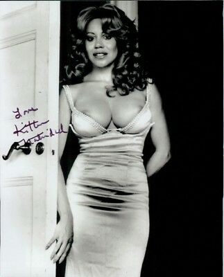 Kitten Natividad autographed 8x10 photo COA