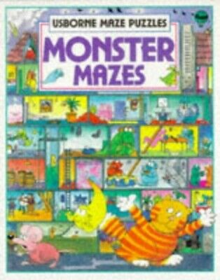 Monster Mazes (Maze fun) by Tyler, Jenny Paperback Book The Cheap Fast Free Post