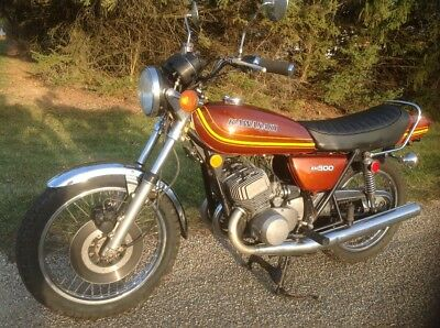 1976 Kawasaki Other  1976 Kawasaki KH500  Runs and drives! Clear title! No Reserve!