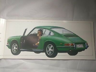 MINT 1967 1968 Porsche 911 911L 912 Targa SWB Dealer Brochure - Original