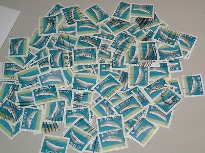 Stamp Pickers Canada 1988 Whale 78 Cents x 85 Stamps Scott Un #1179 VFU