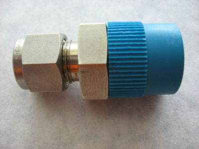 """Swagelok SS-600-1-8RT Fitting 3/8"""" Tube To 1/2"""" BSP Male Pipe"""