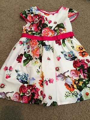 BAKER BABY by Ted Baker Floral Dress Sz 0