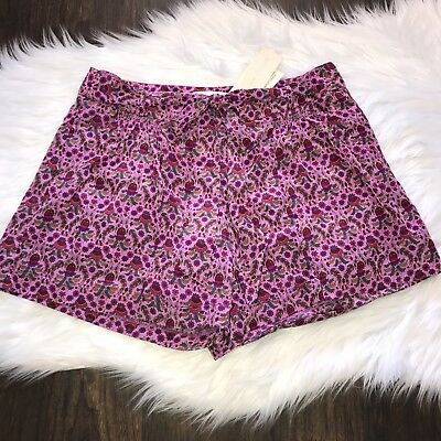 Miss Me Couture Women's Shorts Paisley Print Tie Waist Size Large Lined