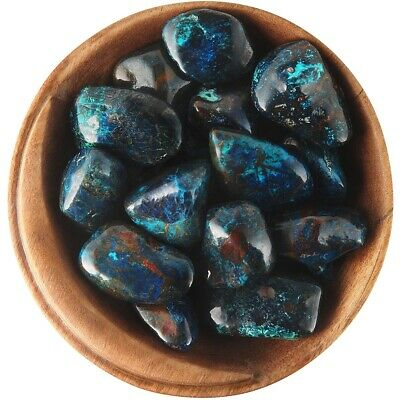 1  SHATTUCKITE - Ethically Sourced, 1 Inch Tumbled Stone