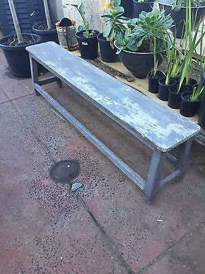 Shabby Chic Vintage Rustic Bench