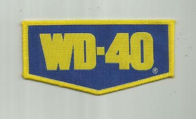 Wd-40 Mechanics Racing Team Motorcycle Patch Unsewn 3 7/8 Inches  San Diego Ca