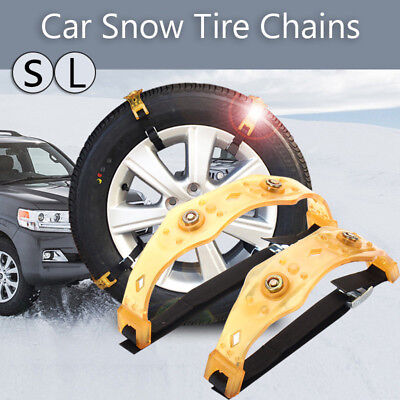 Winter Anti-skid Chains Car Snow Mud Wheel Tyre Thickened Tire Tendon 205-225mm