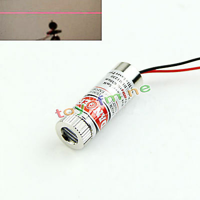 3pcs 135mm Laser Diode Module Red Cross Lines Focusable Lens 650nm 5mW 3-6V