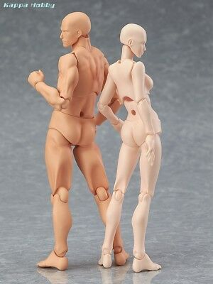Max Factory figma archetype next: he & she flesh color ver (Re-run) [PRE-ORDER]