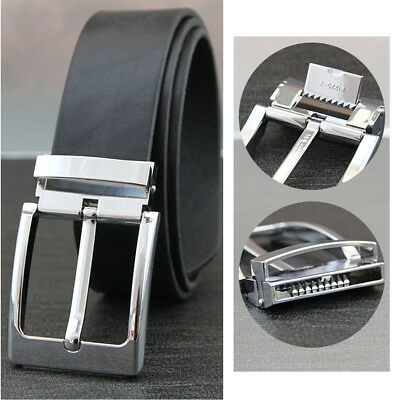 2pcs Fashion Quality Pin Buckle For Mens Belt Pearl Gun Full Sweep Chrome Color