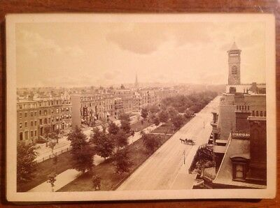 Collection Of 7 Photographs Of Boston Epoca In The Second Half Of The 800 - Rare