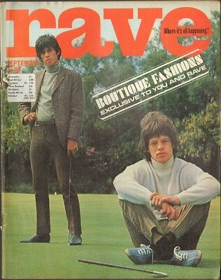 RAVE 1965 Rolling Stones P.J. PROBY George Harrison DONOVAN Gene Pitney BYRDS