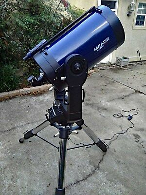 "Meade 14"" LX200GPS-SMT UHTC Supercharged w/Giant Field Tripod and JMI hard case"