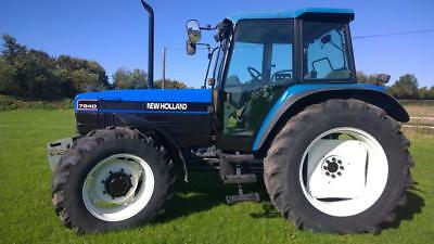 New Holland 7840 Tractor Dual Power