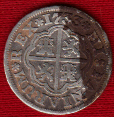 Spain 1733 1 Real *VF* but...