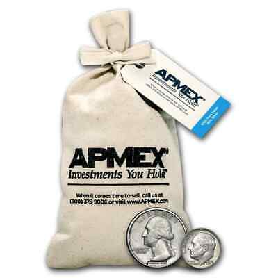 90% Silver Coins - $100 Face-Value Bag - SKU #27