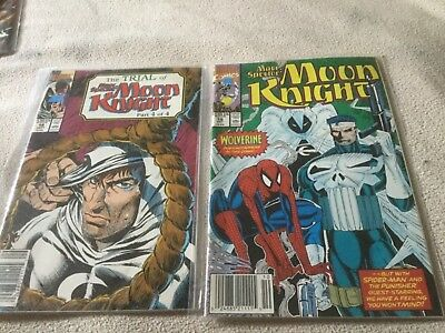 Marc Spector Moon Knight - #18-33. 16 issues