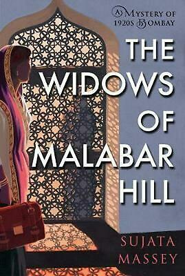 The Widows Of Malabar Hill by Sujata Massey Hardcover Book Free Shipping!