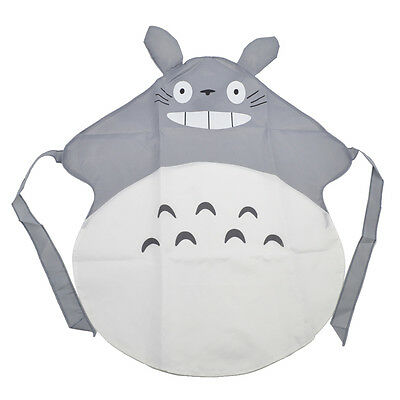 Japanese Anime My Neighbour Totoro Aprons Adult Kitchen Cooking Pinafor Unisex