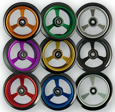 Frog Legs Epic Coloured Aluminium  Wide Roll Casters (Pair)