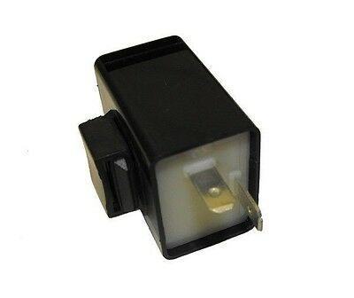 12V 21W + 3W 2 pin Motorcycle Scooter Flasher Relay Can Unit With Audible buzzer