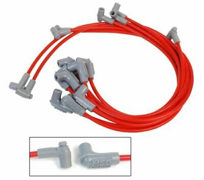 MSD 31249 Red 8.5mm Spark Plug Wire Set for Bel Air/Chevelle/Impala/Ventura/Nova