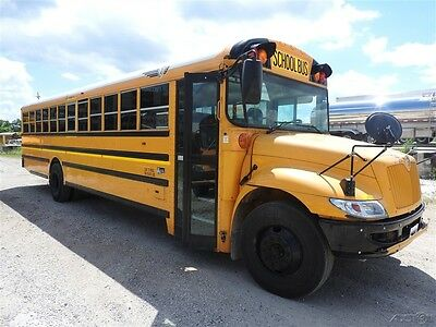12 IC CE Used 71 Passenger School Bus 6.4 Diesel Engine 2 Roof Hatches 119101k3